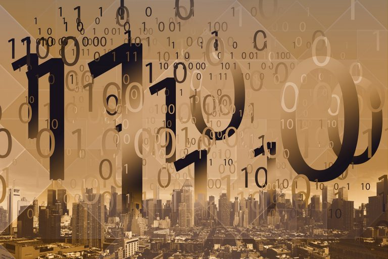 Binary Code Digitization City  - geralt / Pixabay