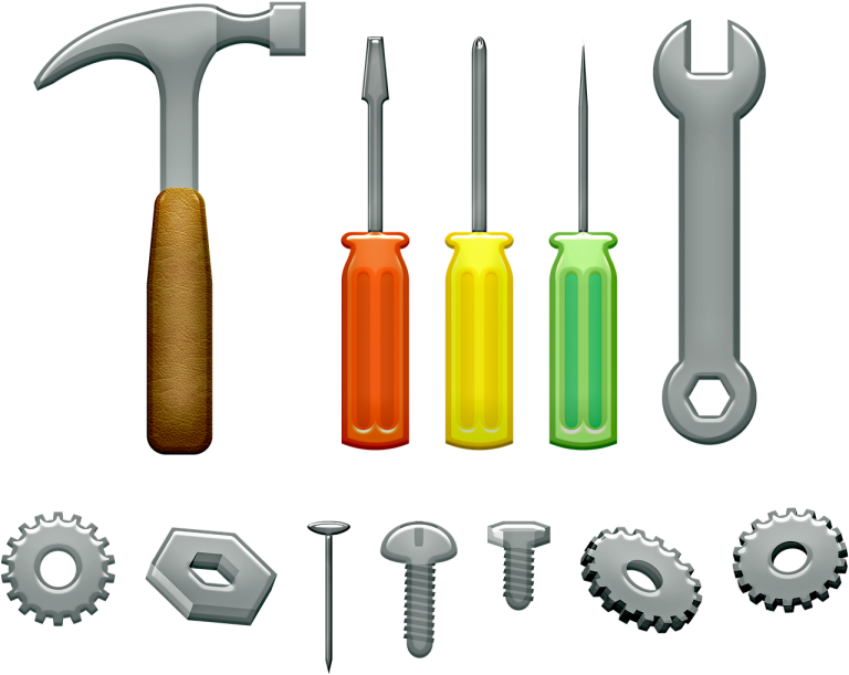 Tools Hammer Wrench Screwdriver  - 7089643 / Pixabay